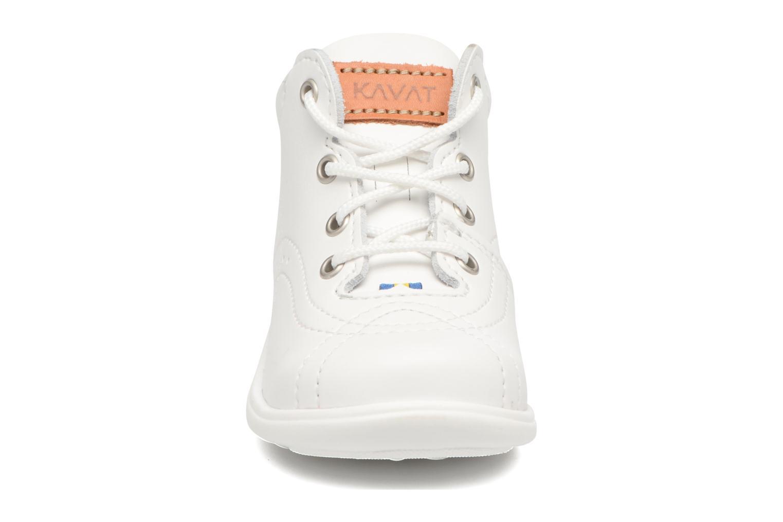 Chaussures à lacets Kavat Edsbro XC Blanc vue portées chaussures