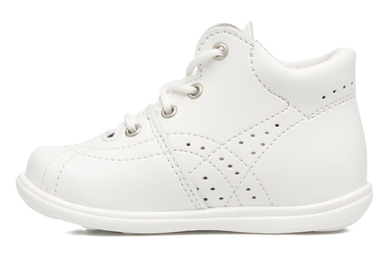 Chaussures à lacets Kavat Edsbro XC Blanc vue face