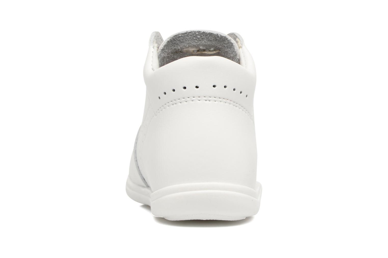 Chaussures à lacets Kavat Edsbro XC Blanc vue droite