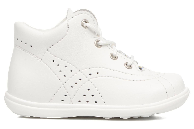 Chaussures à lacets Kavat Edsbro XC Blanc vue derrière