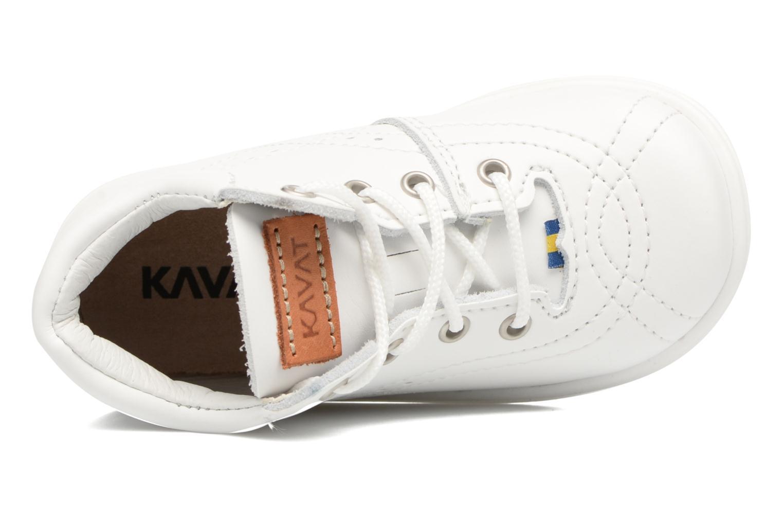 Chaussures à lacets Kavat Edsbro XC Blanc vue gauche