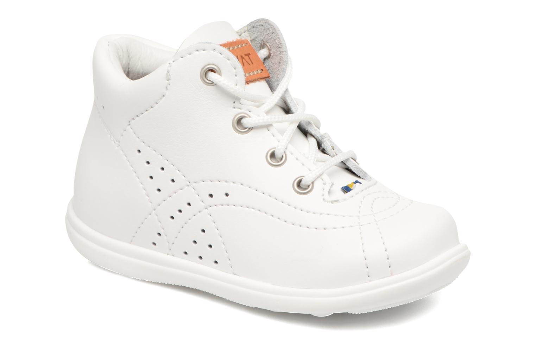 Chaussures à lacets Kavat Edsbro XC Blanc vue détail/paire