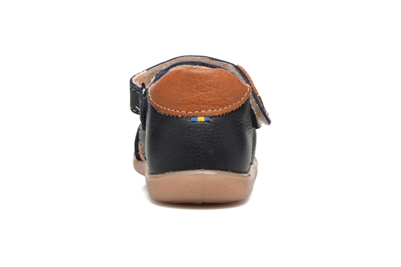 Sandales et nu-pieds Kavat Rullsand EP Bleu vue droite