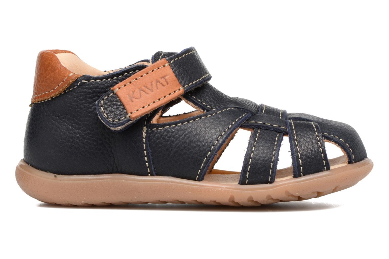 Sandales et nu-pieds Kavat Rullsand EP Bleu vue derrière