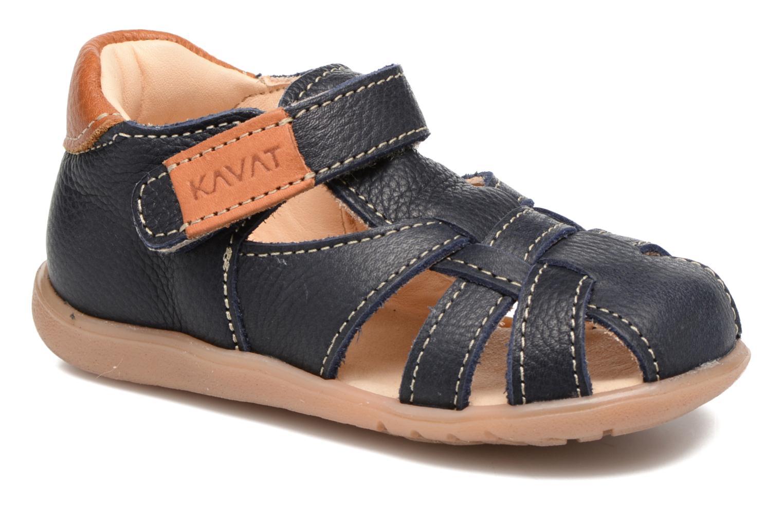 Sandales et nu-pieds Kavat Rullsand EP Bleu vue détail/paire