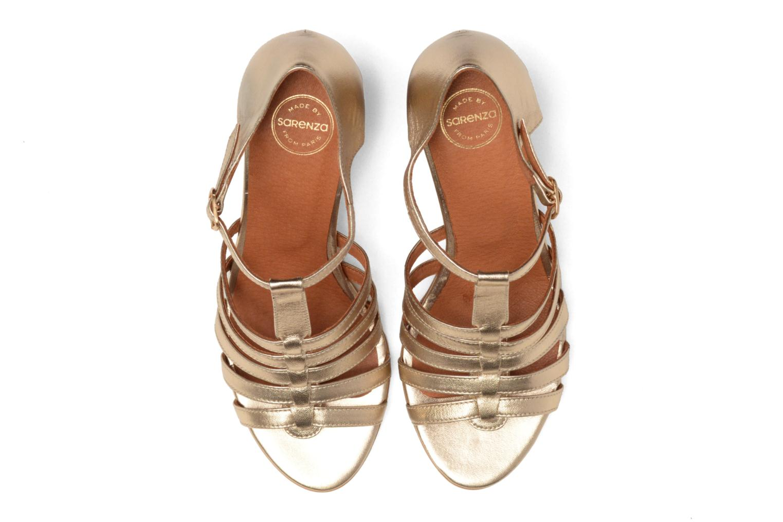 Sandales et nu-pieds Made by SARENZA Frida Banana #12 Or et bronze vue portées chaussures