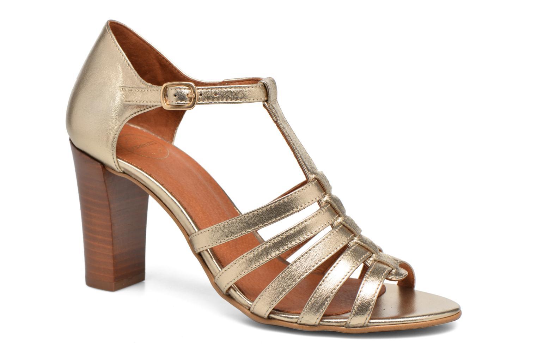 Sandales et nu-pieds Made by SARENZA Frida Banana #12 Or et bronze vue droite
