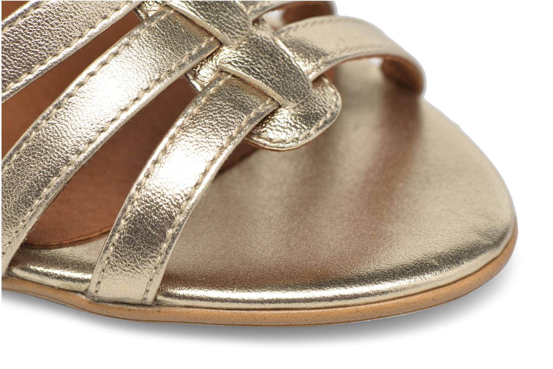 Sandales et nu-pieds Made by SARENZA Frida Banana #12 Or et bronze vue gauche