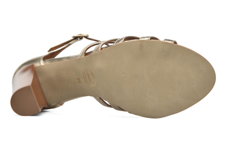Sandales et nu-pieds Made by SARENZA Frida Banana #12 Or et bronze vue haut
