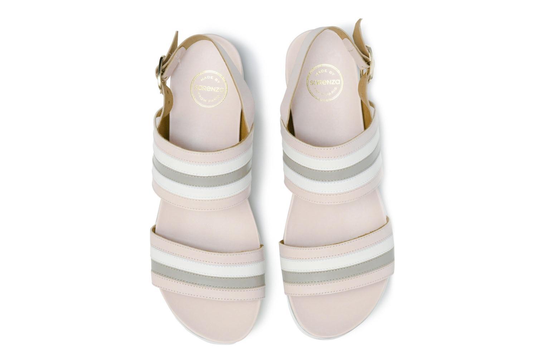 Sandalen Made by SARENZA Pastel Belle #7 mehrfarbig schuhe getragen