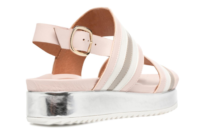 Sandales et nu-pieds Made by SARENZA Pastel Belle #7 Multicolore vue face