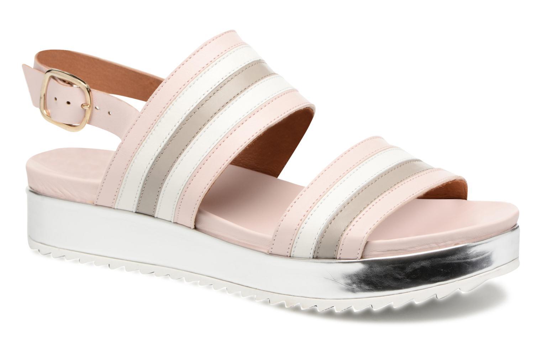 Sandales et nu-pieds Made by SARENZA Pastel Belle #7 Multicolore vue droite