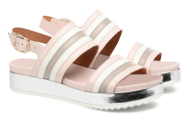 Sandales et nu-pieds Made by SARENZA Pastel Belle #7 Multicolore vue derrière