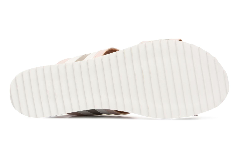 Sandales et nu-pieds Made by SARENZA Pastel Belle #7 Multicolore vue haut
