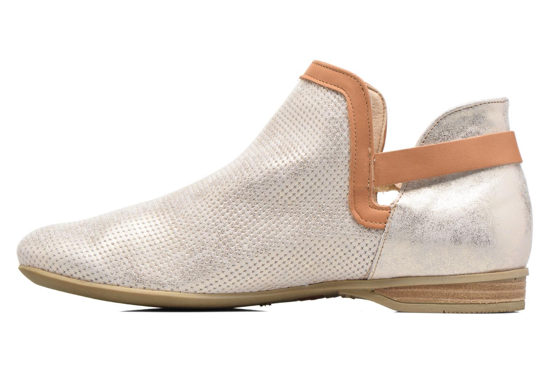 Bottines et boots Dorking Candy 7051 Beige vue face