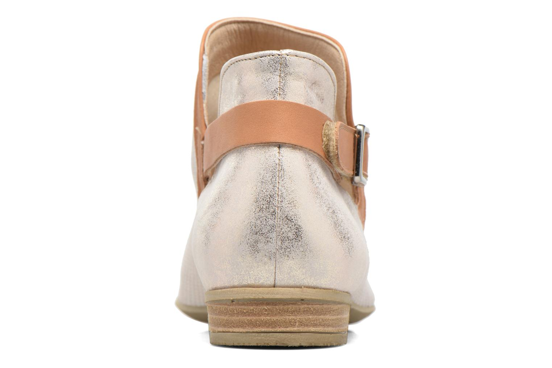 Bottines et boots Dorking Candy 7051 Beige vue droite