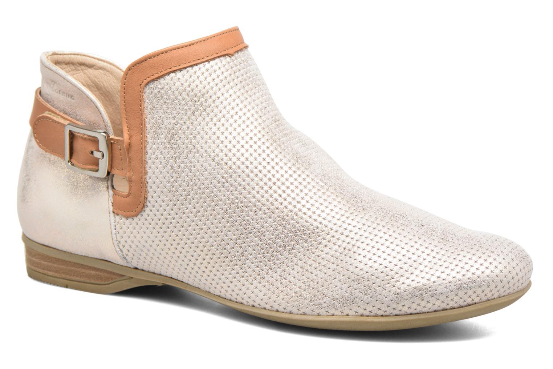 Bottines et boots Dorking Candy 7051 Beige vue détail/paire