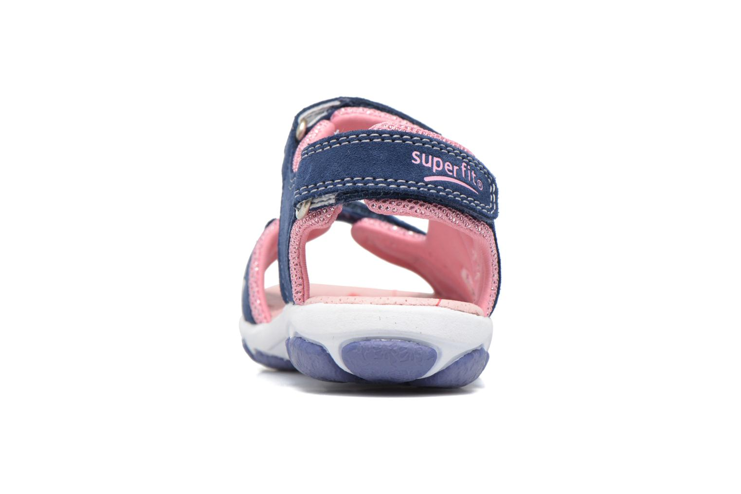 Sandalen Superfit Nancy2 Blauw rechts