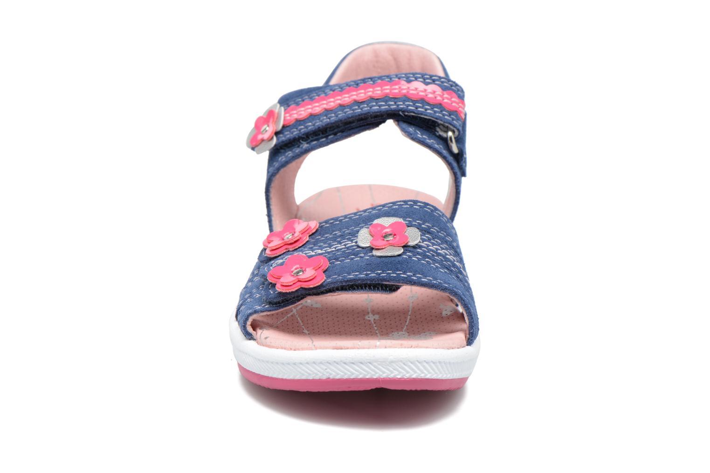 Sandals Superfit Emily Blue model view
