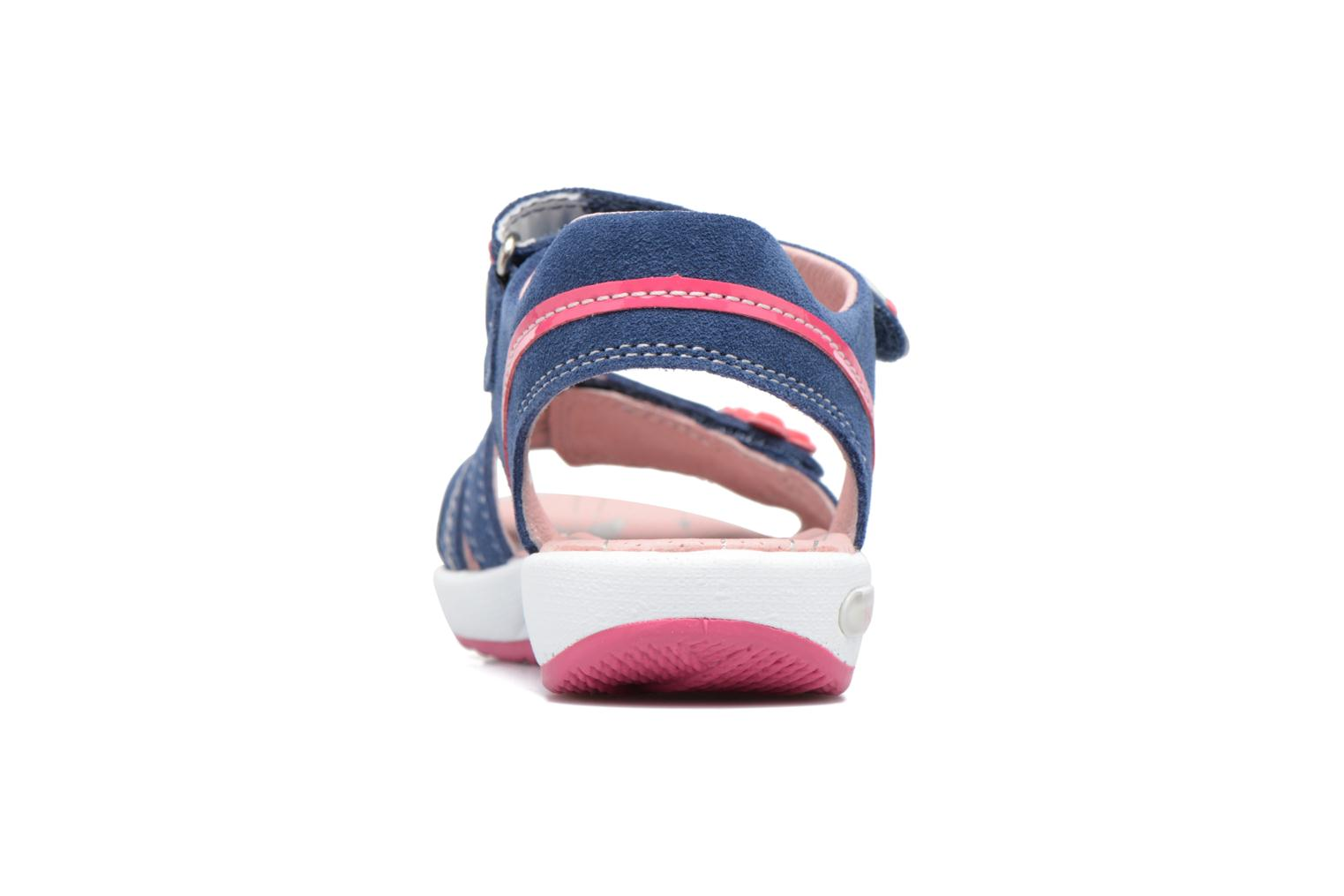 Sandals Superfit Emily Blue view from the right