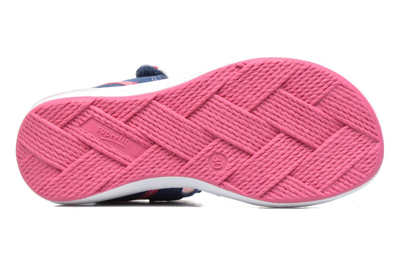 Sandals Superfit Emily Blue view from above