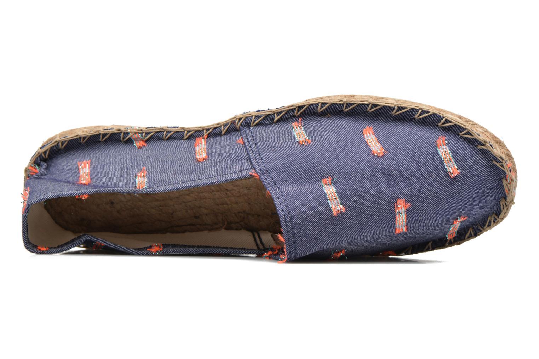 Espadrilles Arsène Pulpe Jeans Bleu vue gauche