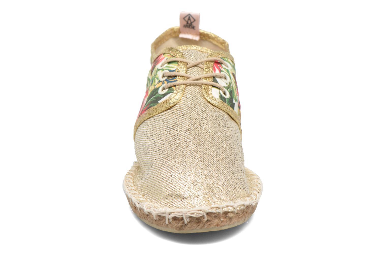 Espadrilles Arsène Carrapicho Tennis Beige vue portées chaussures