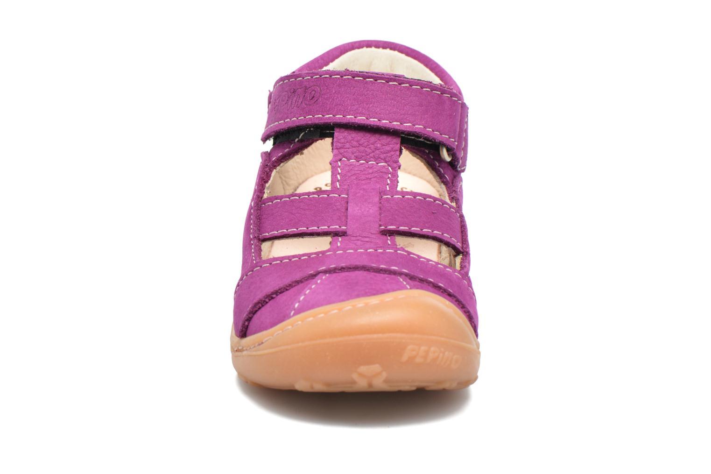 Bottines d'été PEPINO Lani Violet vue portées chaussures