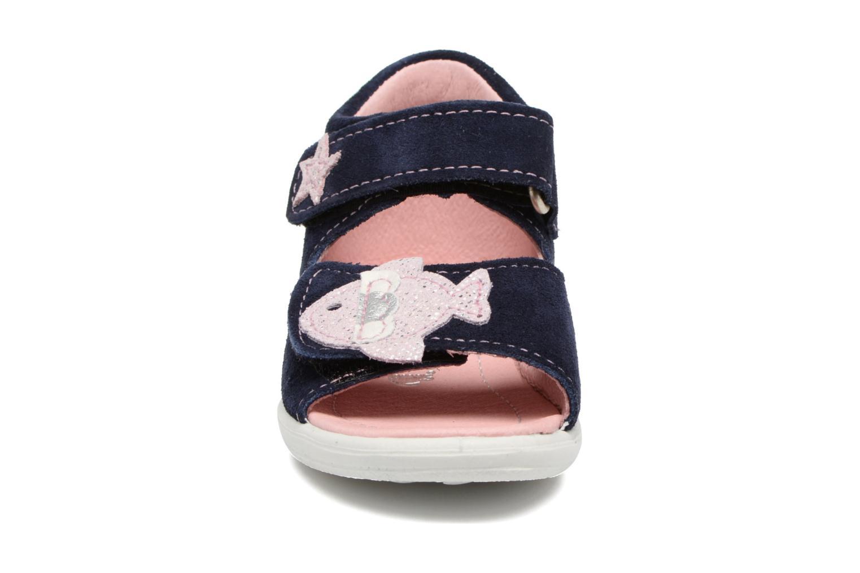 Sandales et nu-pieds PEPINO Shugie Bleu vue portées chaussures