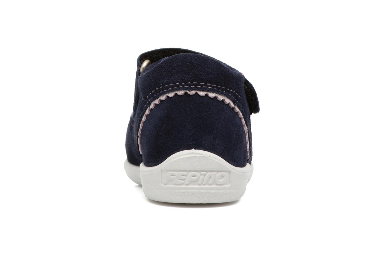 Sandales et nu-pieds PEPINO Shugie Bleu vue droite
