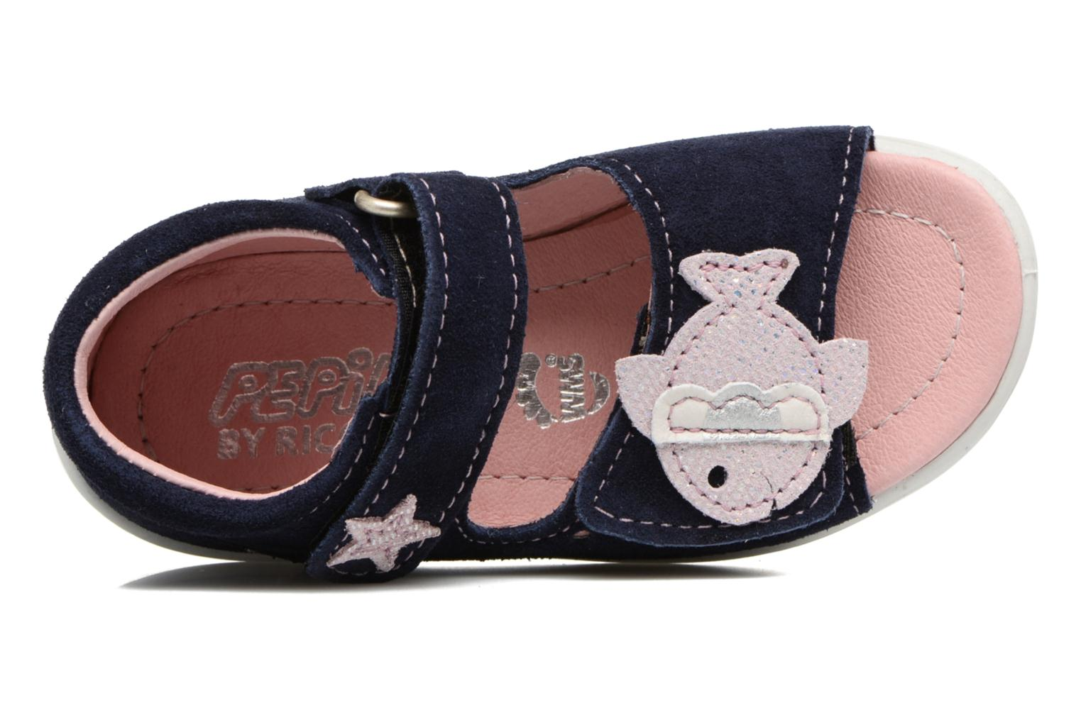 Sandals PEPINO Shugie Blue view from the left