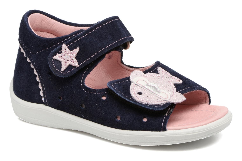 Sandales et nu-pieds PEPINO Shugie Bleu vue détail/paire