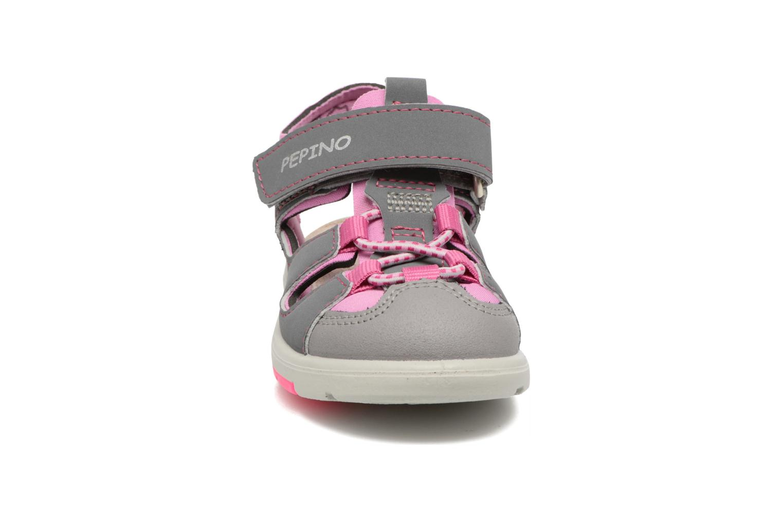 Sandales et nu-pieds PEPINO Gery Gris vue portées chaussures