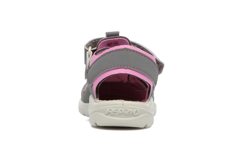 Sandales et nu-pieds PEPINO Gery Gris vue droite