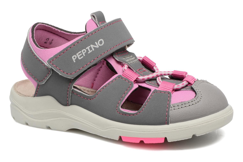 Sandales et nu-pieds PEPINO Gery Gris vue détail/paire