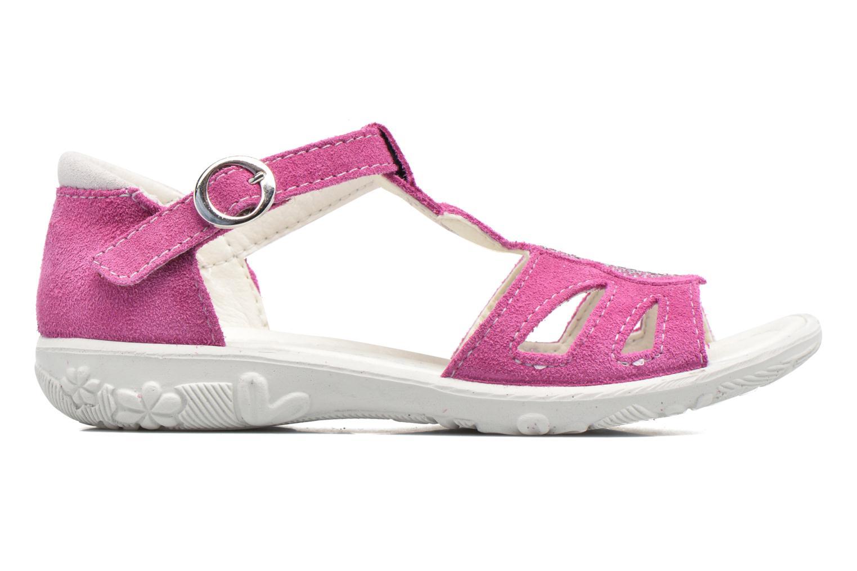 Sandales et nu-pieds Ricosta Pippa Rose vue derrière