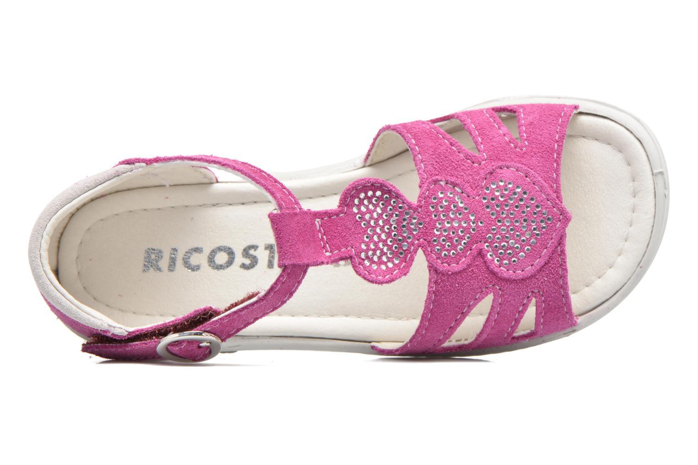 Sandales et nu-pieds Ricosta Pippa Rose vue gauche