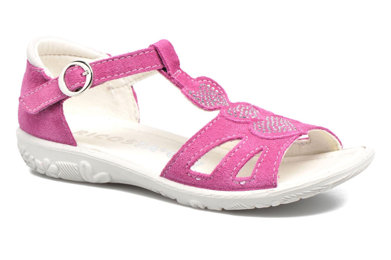 Sandaler Ricosta Pippa Pink detaljeret billede af skoene