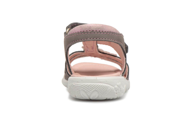 Sandales et nu-pieds Ricosta Chica Gris vue droite