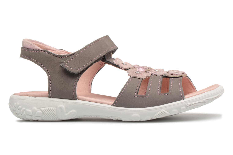 Sandales et nu-pieds Ricosta Chica Gris vue derrière