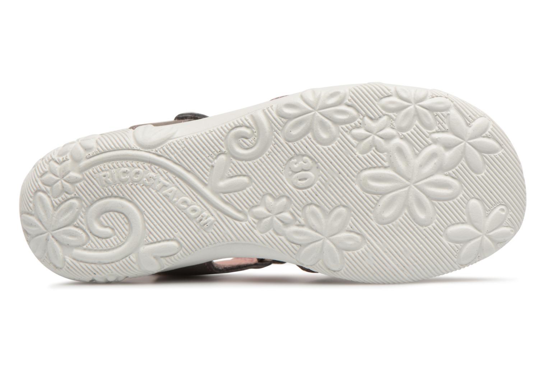 Sandales et nu-pieds Ricosta Chica Gris vue haut