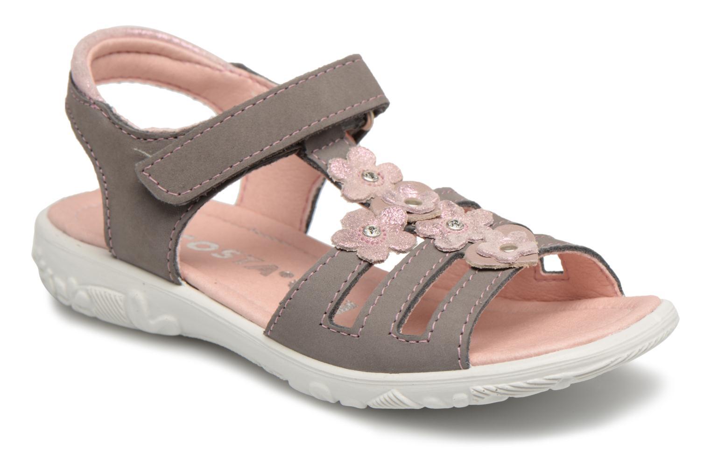 Sandales et nu-pieds Ricosta Chica Gris vue détail/paire