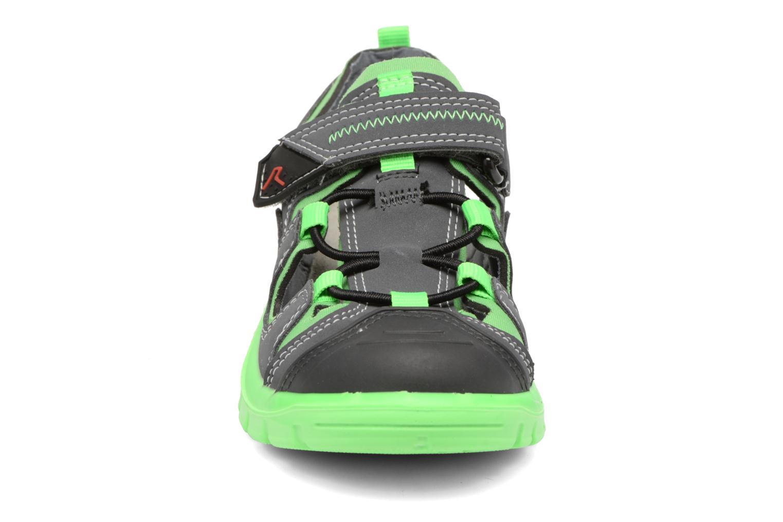 Sandales et nu-pieds Ricosta Reyk Gris vue portées chaussures