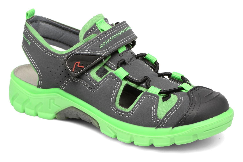 Sandales et nu-pieds Ricosta Reyk Gris vue détail/paire
