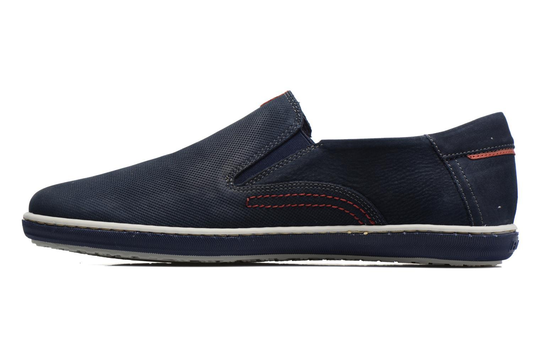 Loafers Fluchos Pegaso 9707 Blå bild från framsidan
