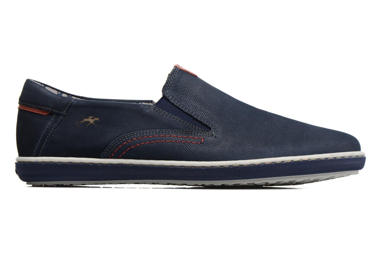 Loafers Fluchos Pegaso 9707 Blå bild från baksidan