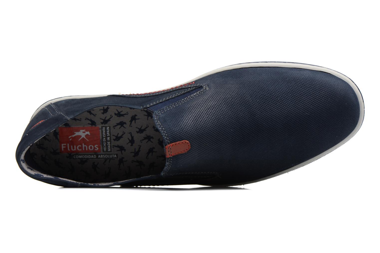 Loafers Fluchos Pegaso 9707 Blå bild från vänster sidan