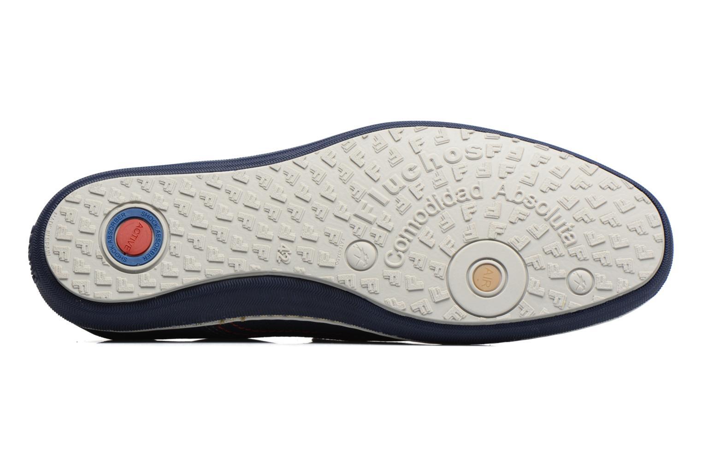 Loafers Fluchos Pegaso 9707 Blå bild från ovan