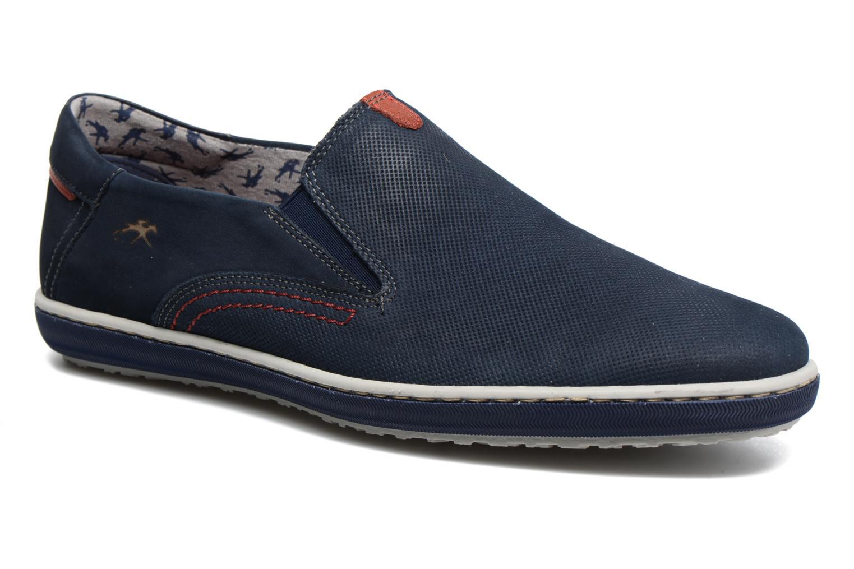 Loafers Fluchos Pegaso 9707 Blå detaljerad bild på paret