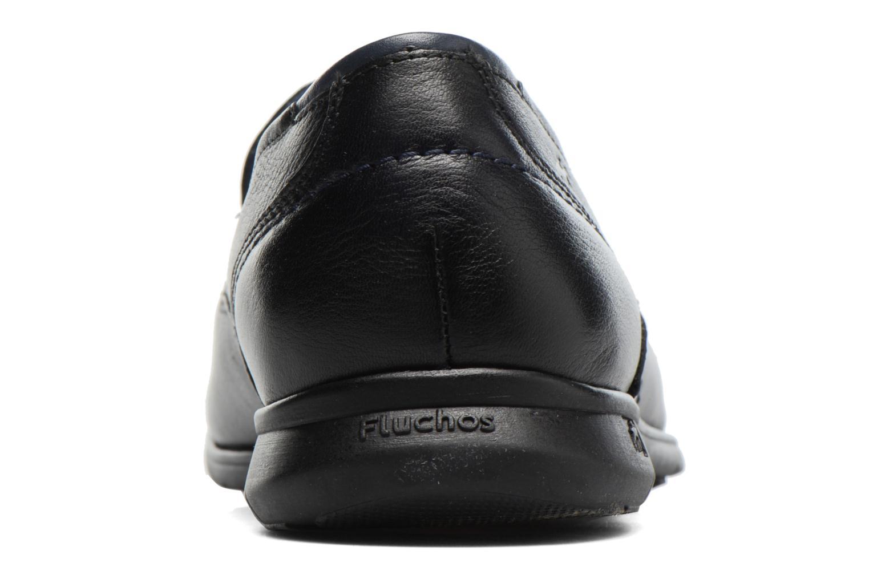 Loafers Fluchos Nelson 9762 Blå Bild från höger sidan